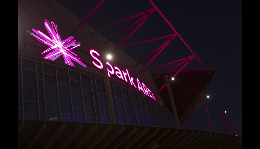 Spark Arena Sign