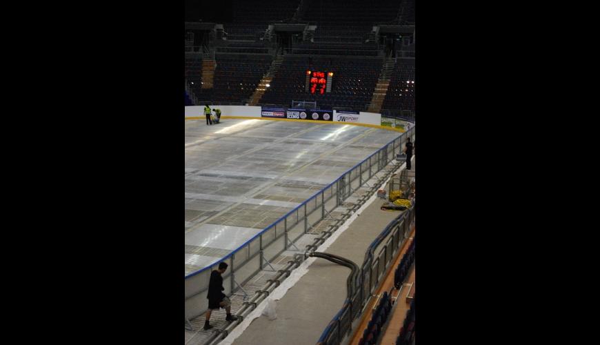 Ice Rink Build