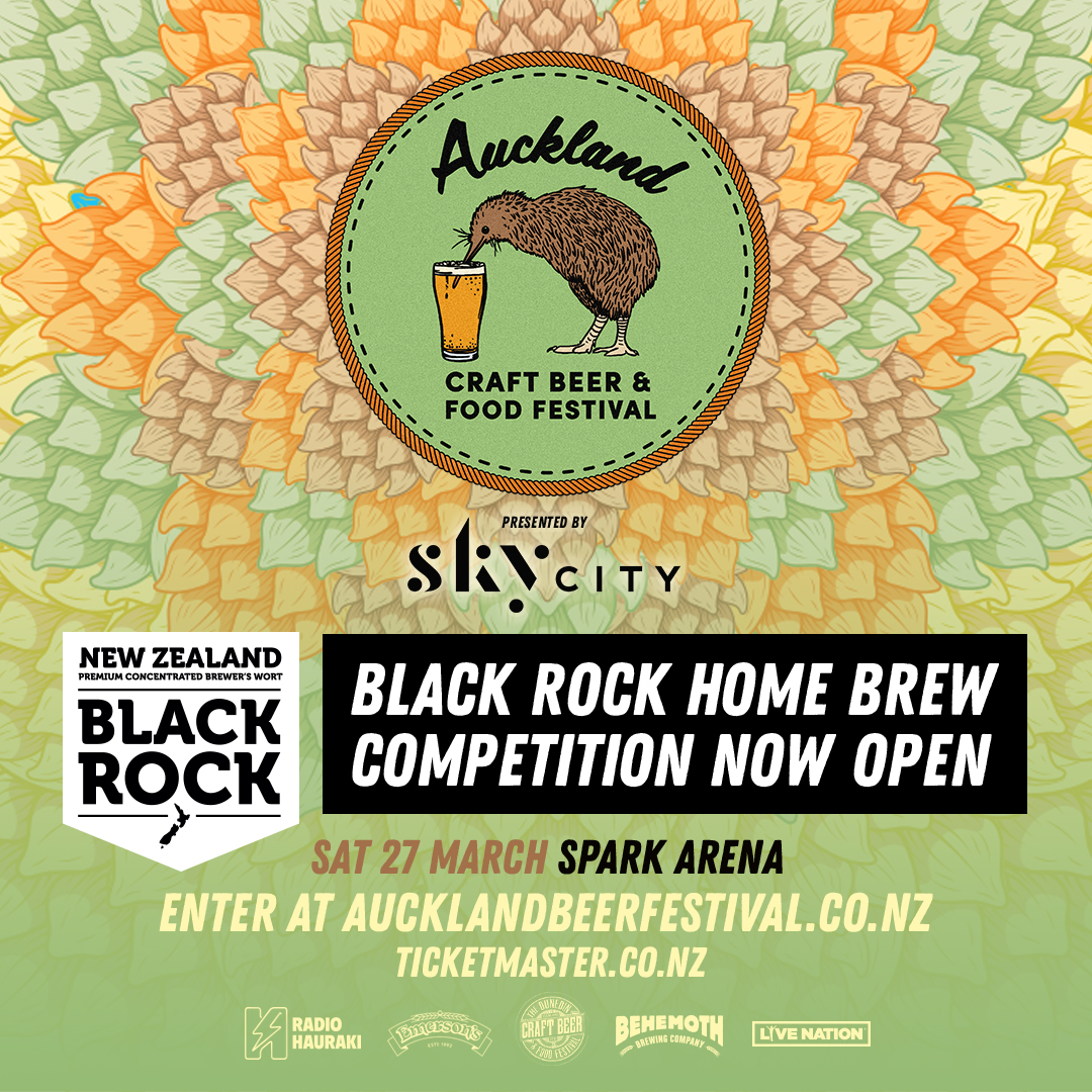 BLACK ROCK HOME BREW COMPETITION
