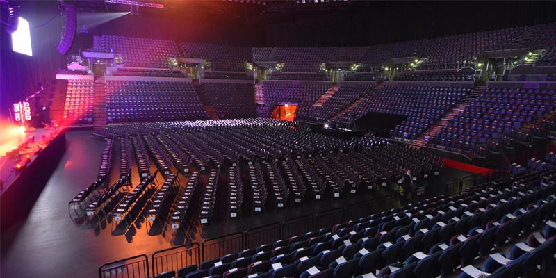 Spark Arena - Seating Plan