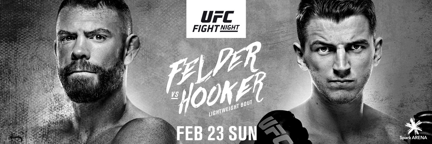 Watch UFC Fight Night 168 Felder vs. Hooker 2/23/20