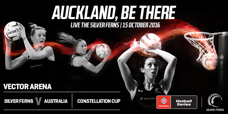 NEW WORLD NETBALL SERIES - CONSTELLATION CUP